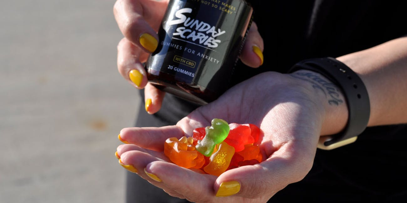 Sunday Scaries CBD Gummies