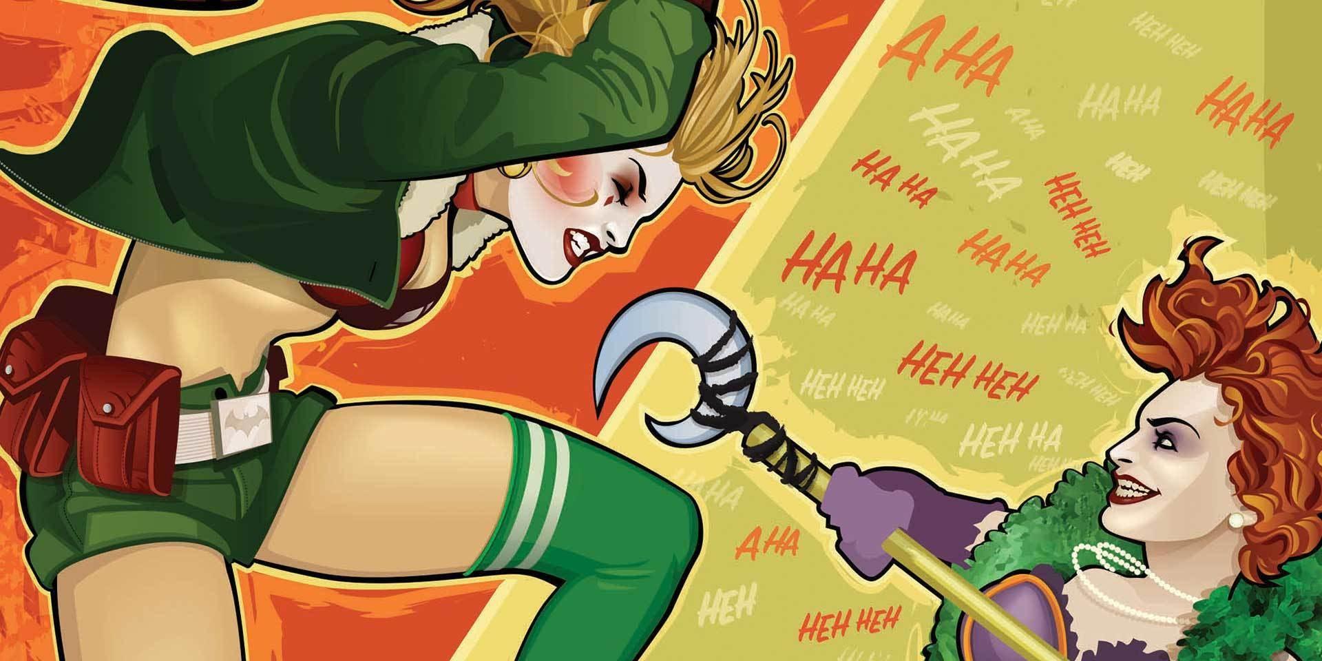 Harley strikes at Joker's daughter in 1940s Berlin.
