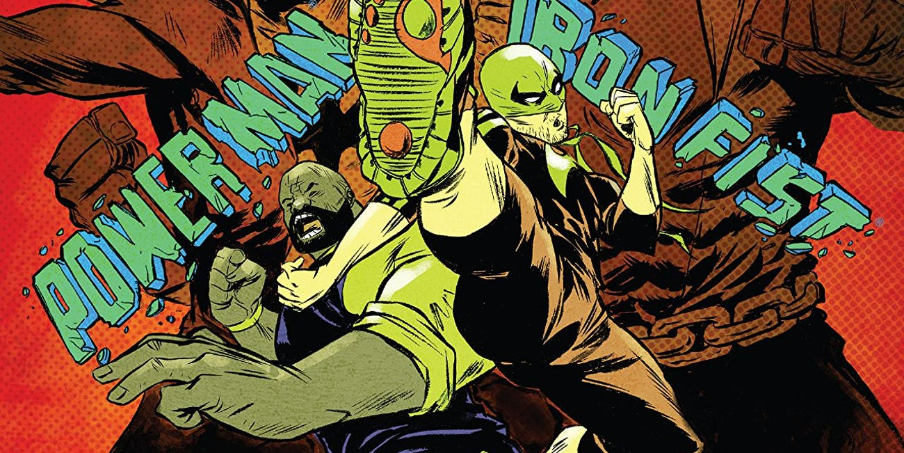 Power Man and Iron Fist Cover