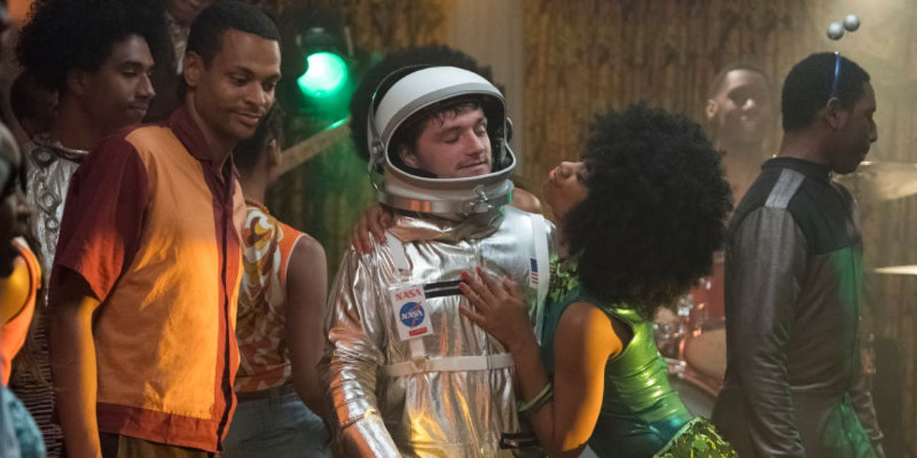 'Future Man' is definitely a comedy, but that doesn't mean it can't be hard sci-fi too.