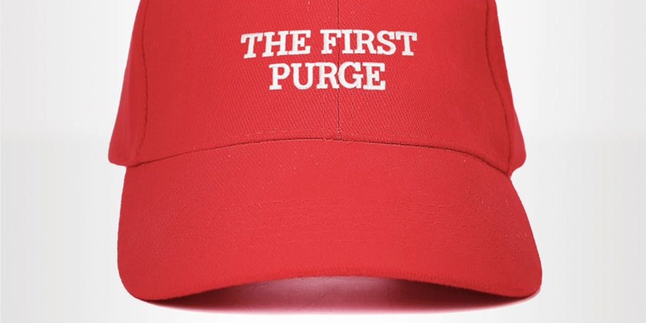 The First Purge Donald trump