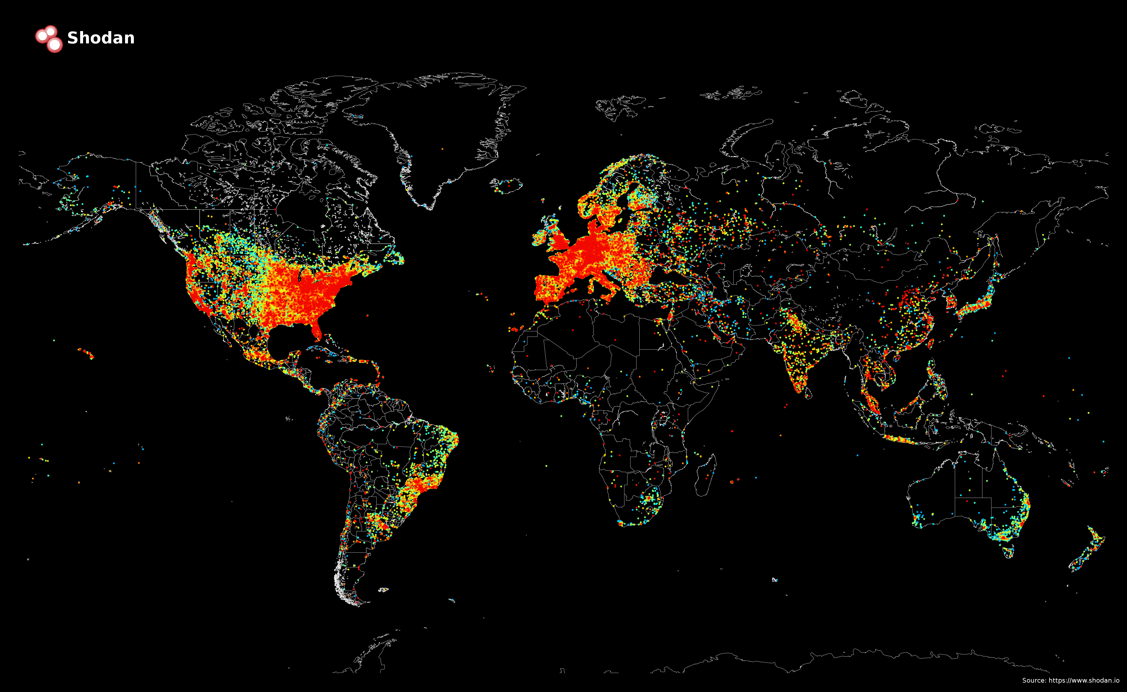 The internet in 2014, before the Pacific Ocean was filled with internet.