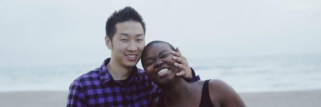 asian man black woman couple youtube