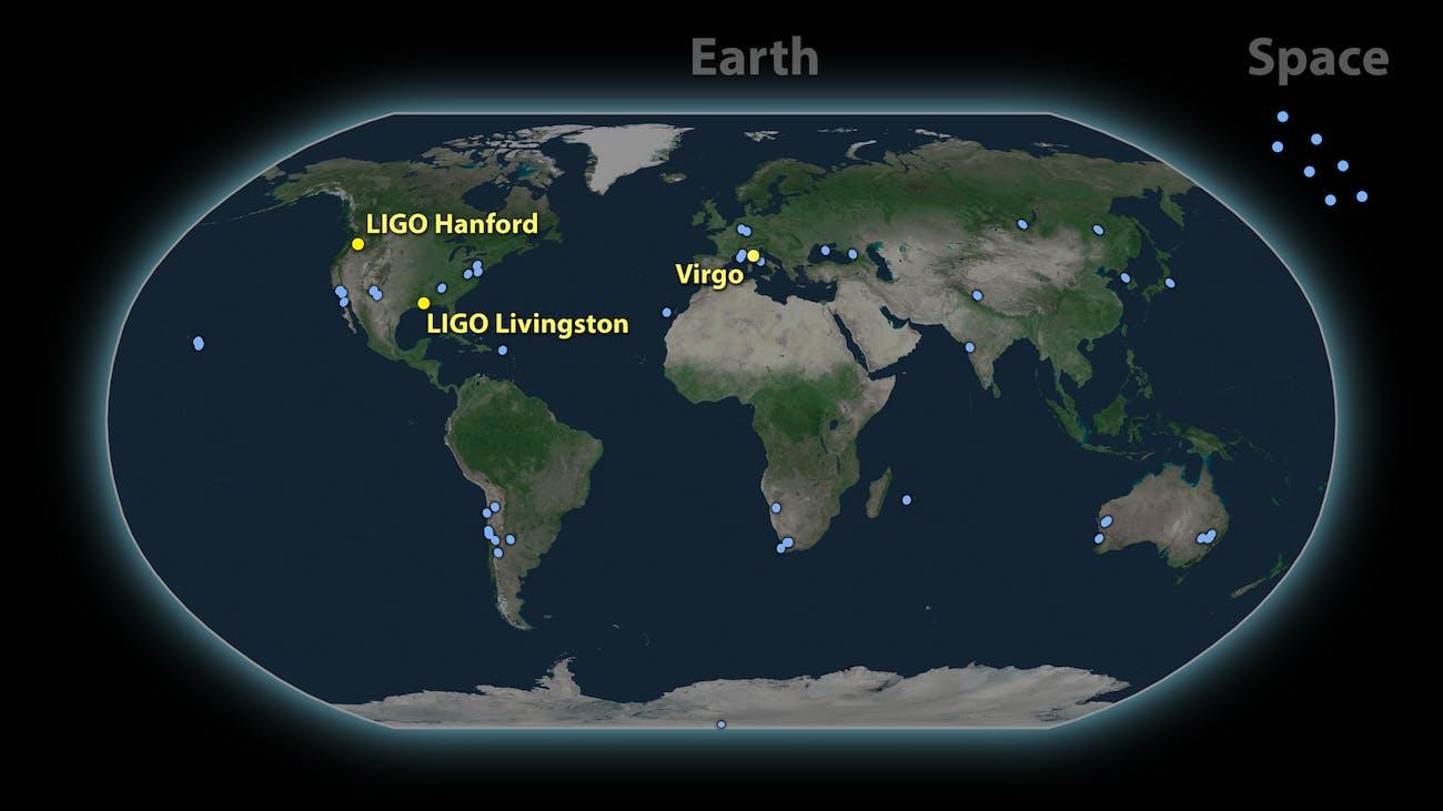 LIGO virgo interferometer