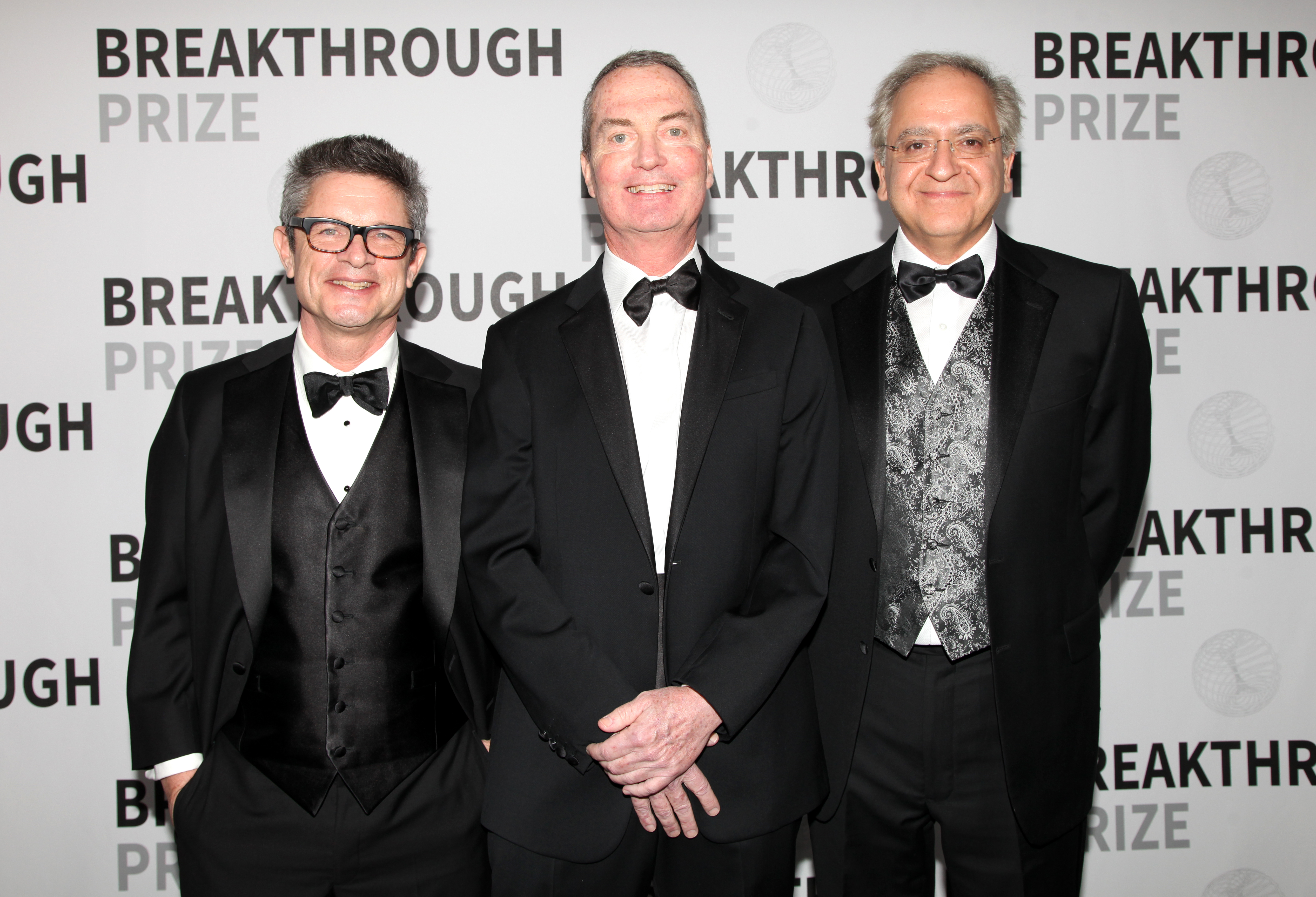 Physicists Andrew Strominger, Cumrun Vafa and Joseph Polchinski.