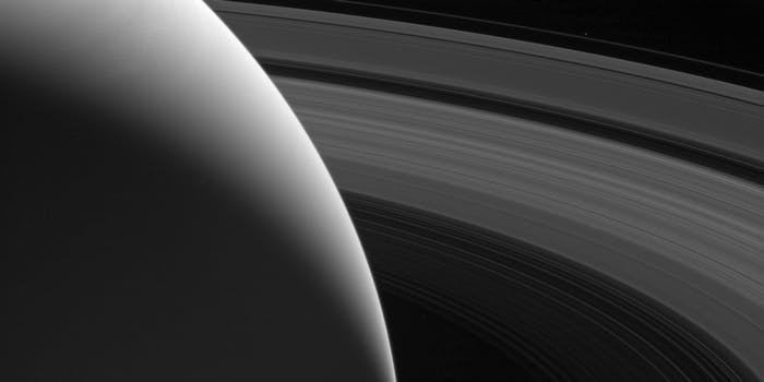 """The Grace of Saturn,"" captured by Cassini"