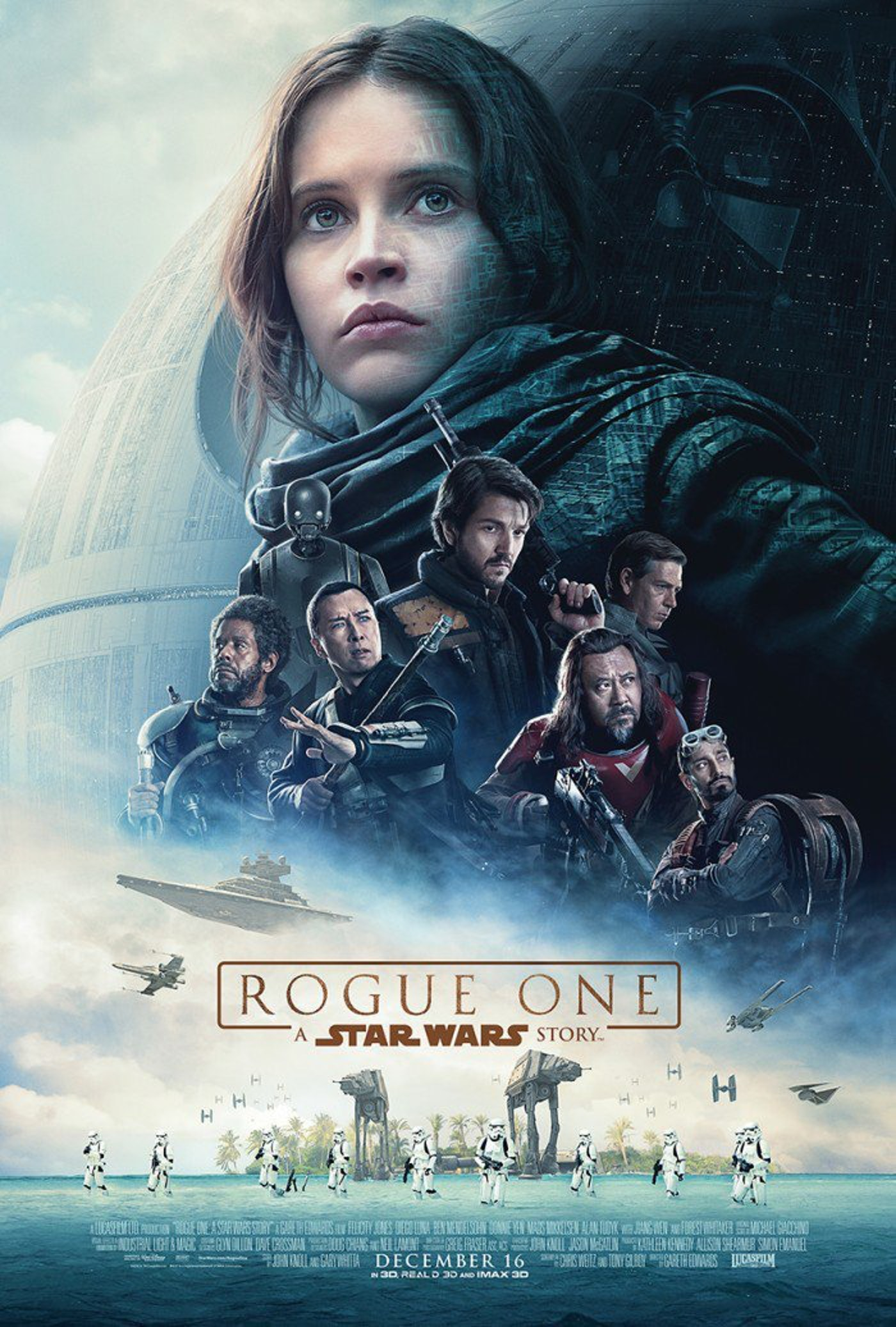 Here is the newest poster for 'Rogue One.'