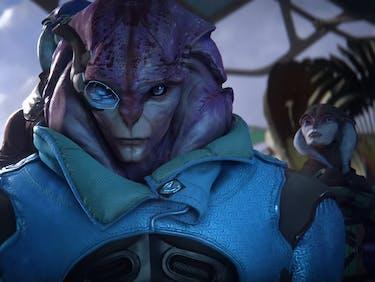Brand-New Aliens Crash 'Mass Effect: Andromeda' Trailer