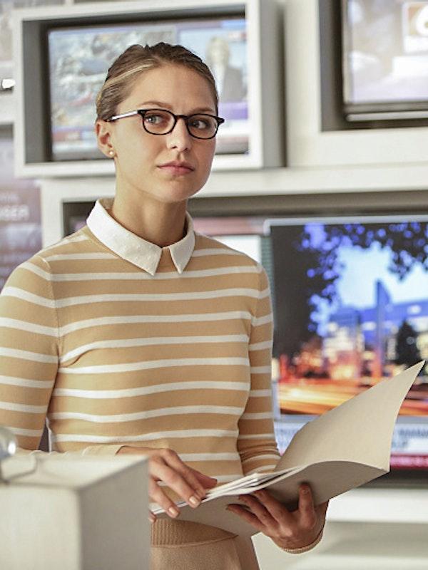 Kara Danvers and Cat Grant in the Season 2 premiere of 'Supergirl'