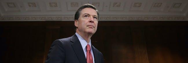 Former FBI head James Comey
