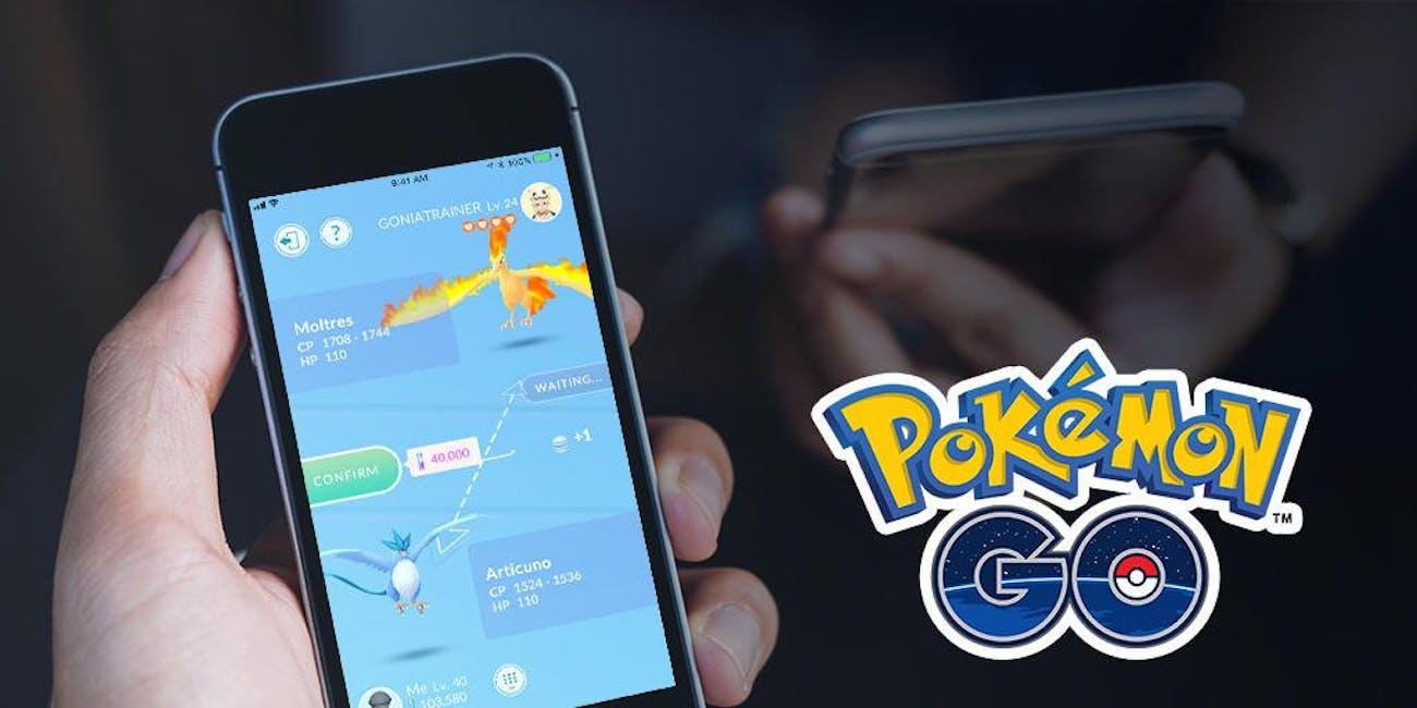 'Pokémon GO' trading