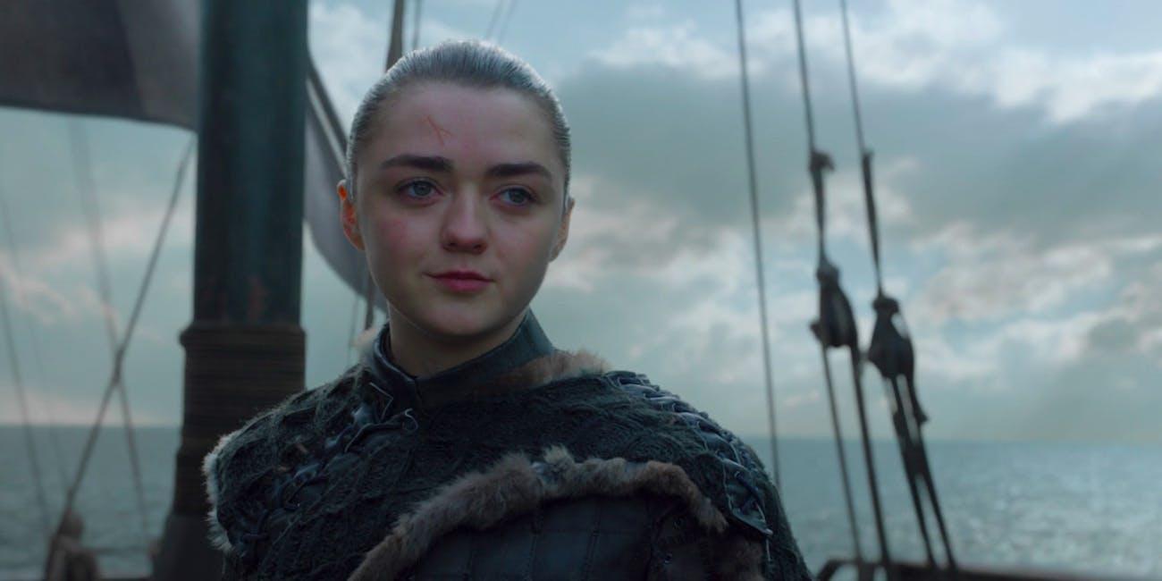 Game of Thrones Finale Arya Stark
