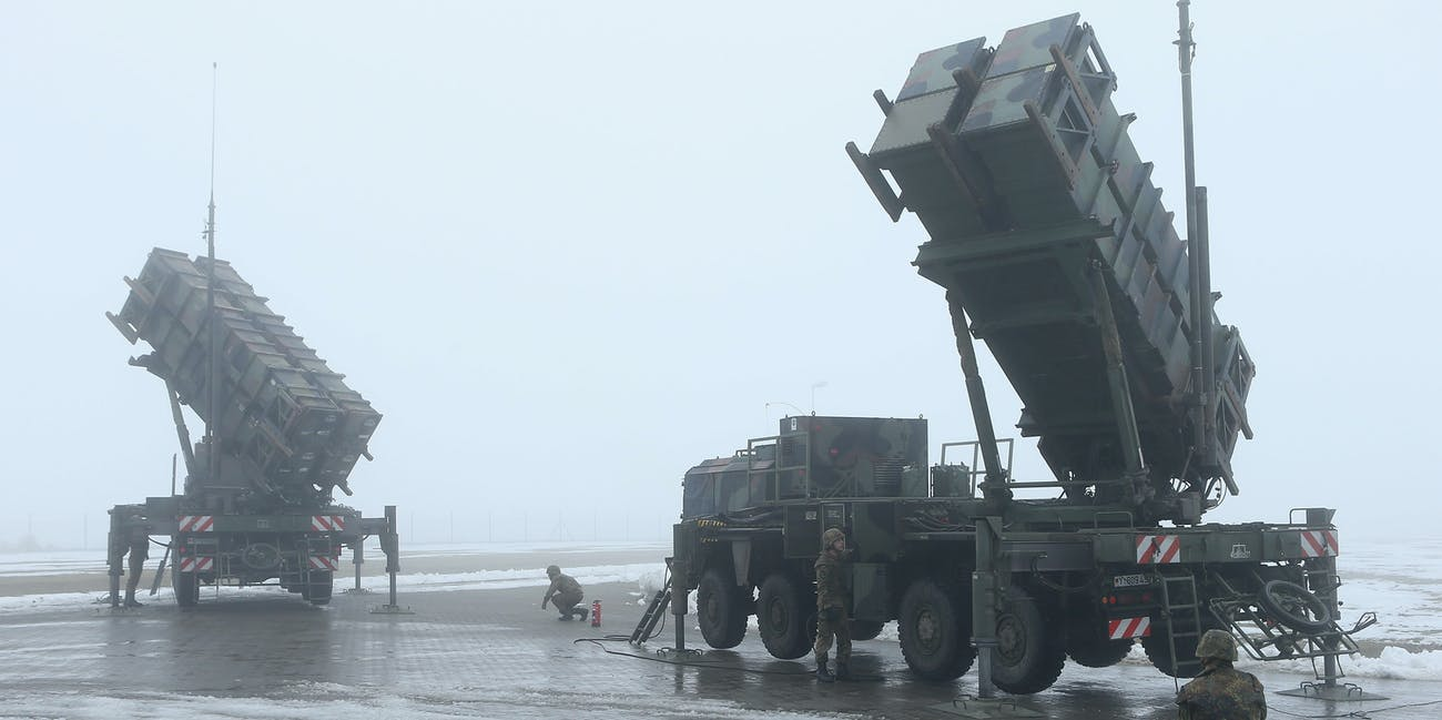 Patriot Missile Used Cheap Drone