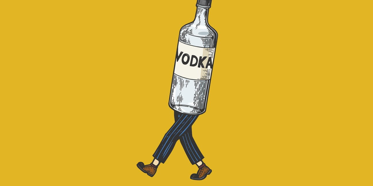 walking vodka