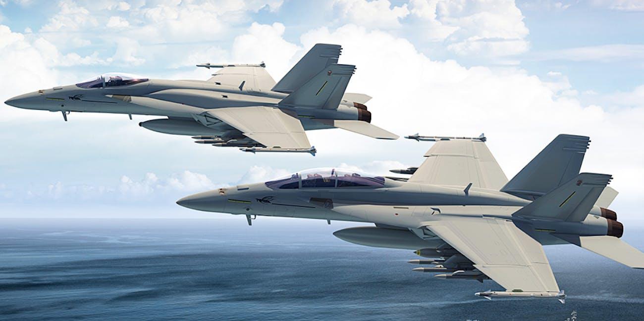 boeing nasa fighter jet