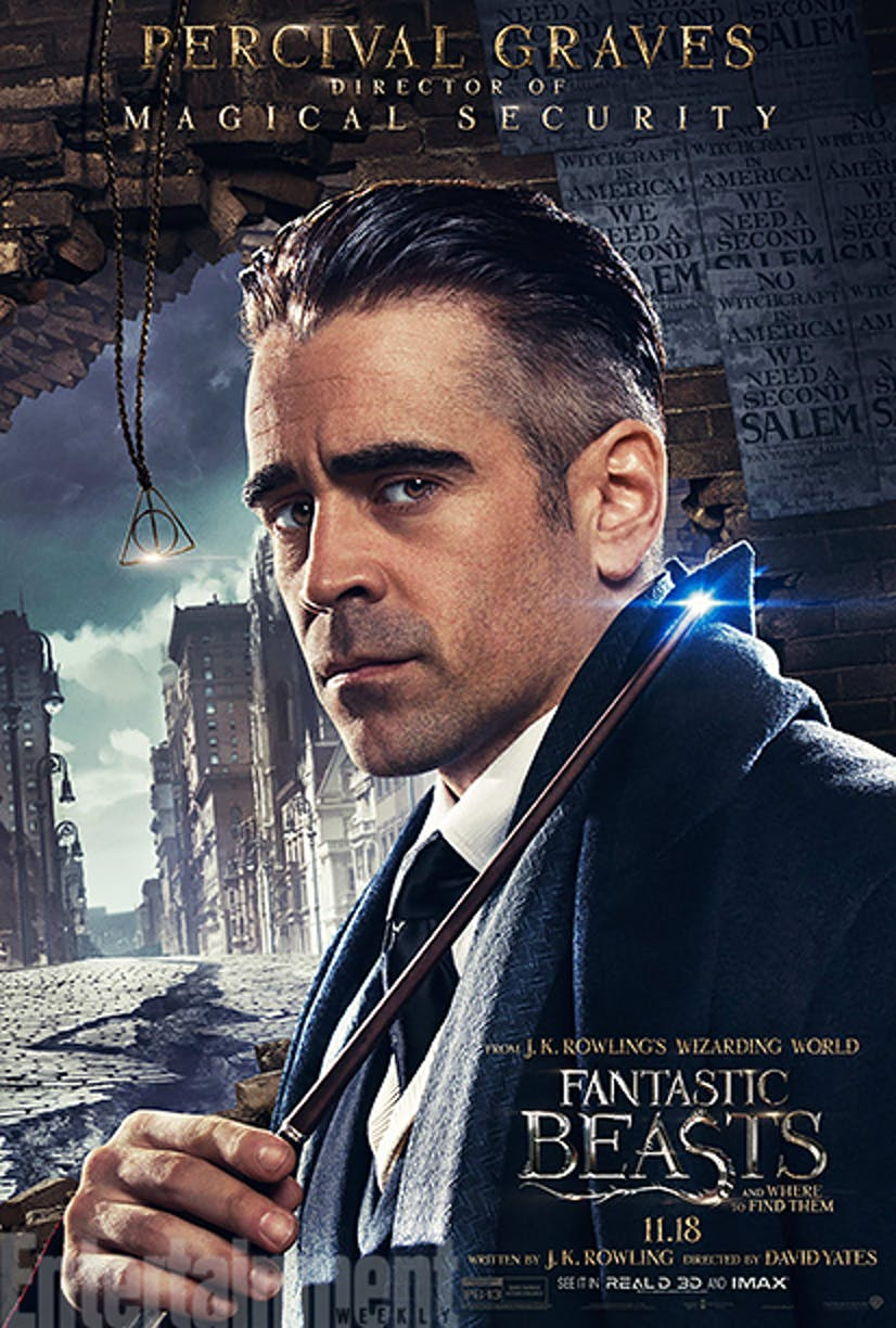 Percival Graves in 'Fantastic Beasts and Where to Find Them'