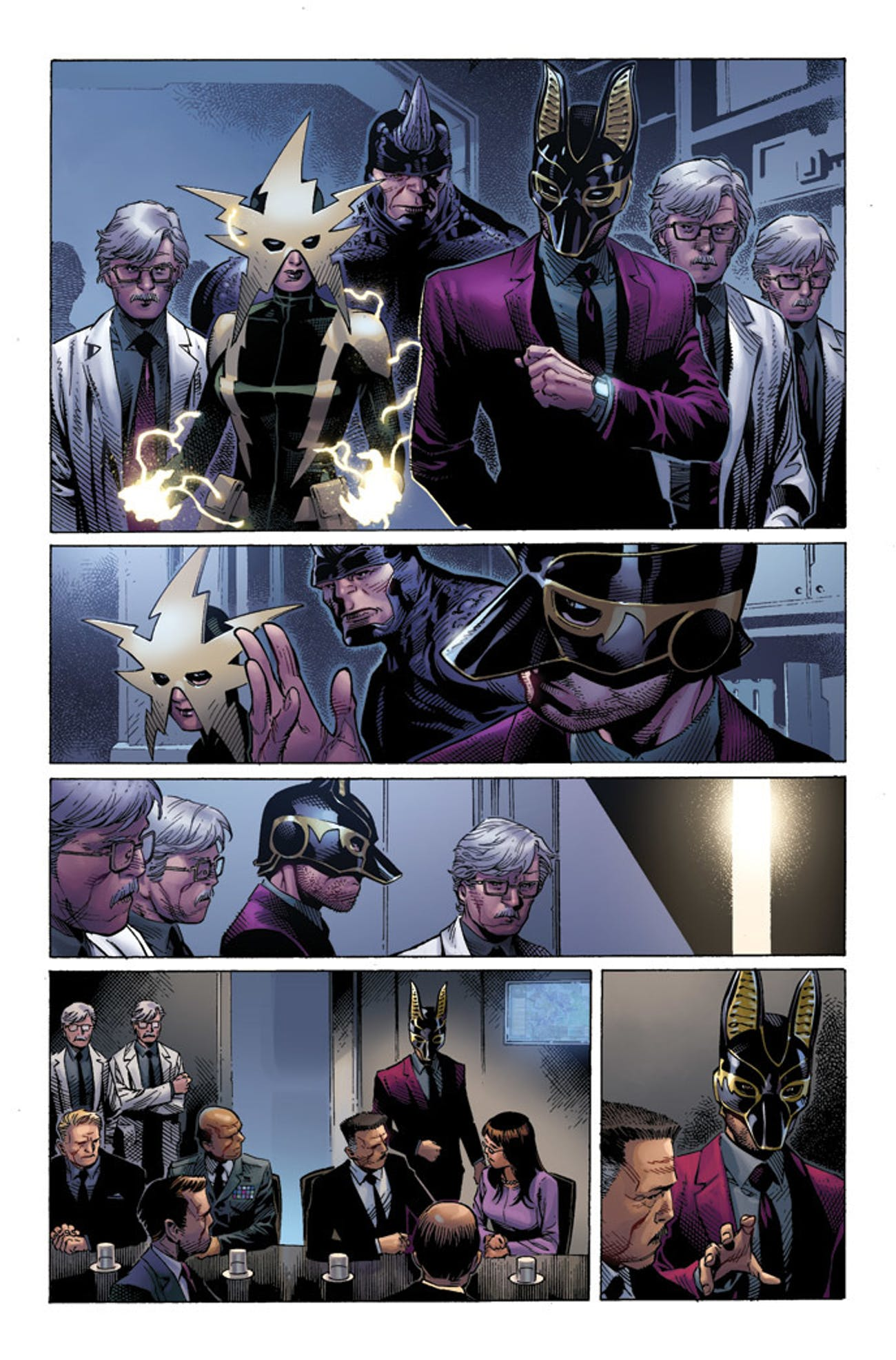 Jackal in The Amazing Spider-Man the Clone Conspiracy Marvel Comics