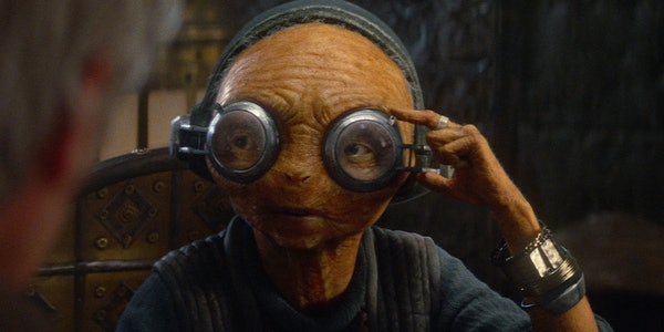 Maz Kanata is Force-sensitive in 'The Force Awakens'