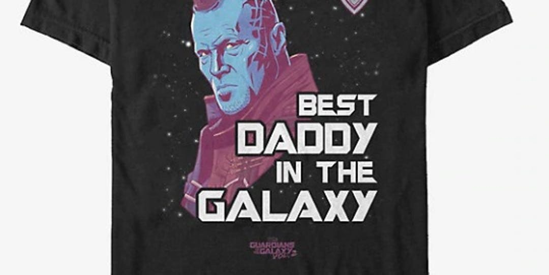 MARVEL GUARDIANS OF THE GALAXY SPACE DAD T-SHIRT