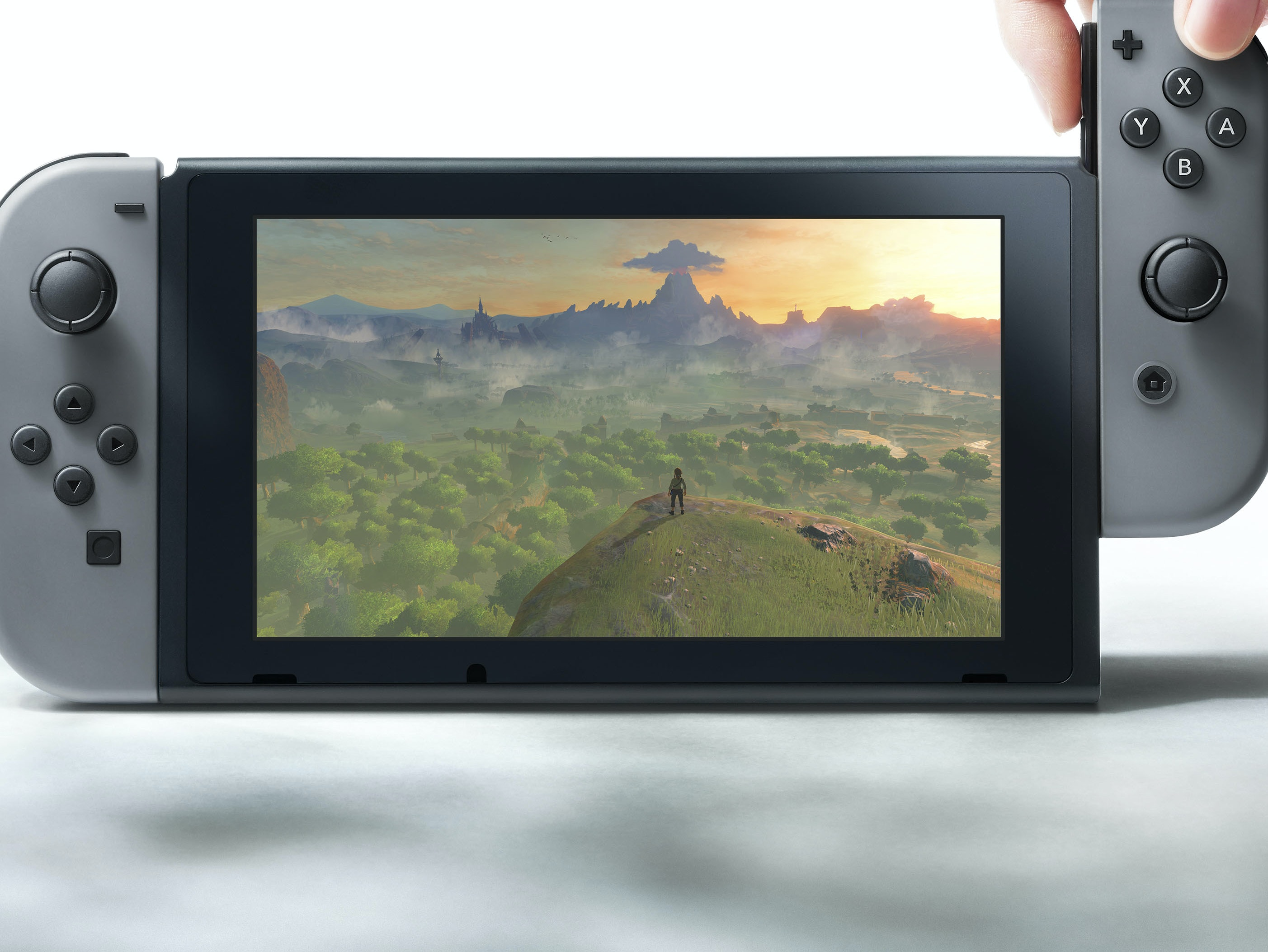 First Look: Nintendo Switch Console is a Modular Delight