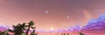 Fortnite meteor shower