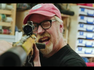 adam savage nerf rifle
