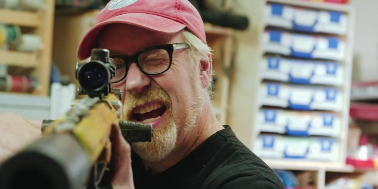 adam savage nerf rifle