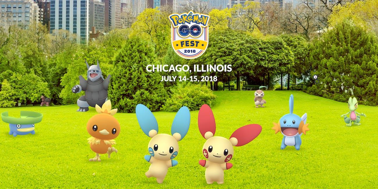 'Pokemon GO' Fest 2018