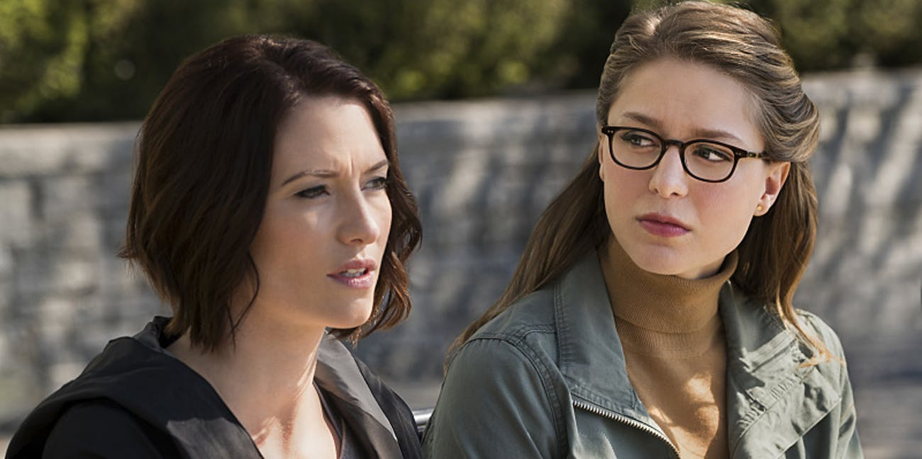 Kara and Alex Danvers in 'Supergirl