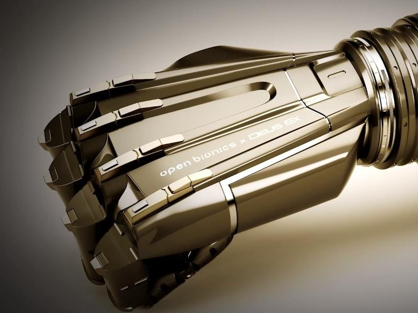 Open Bionics: Our 'Deus Ex' Arms Are Not for Biohackers