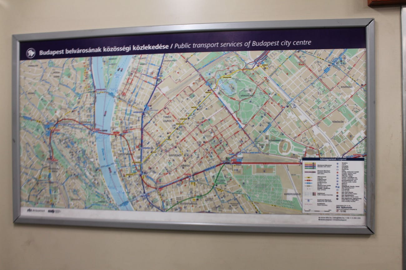 Howto Readthe Nyc Subway Map.This Hungarian Subway Is Like A Ride Into The Past Inverse