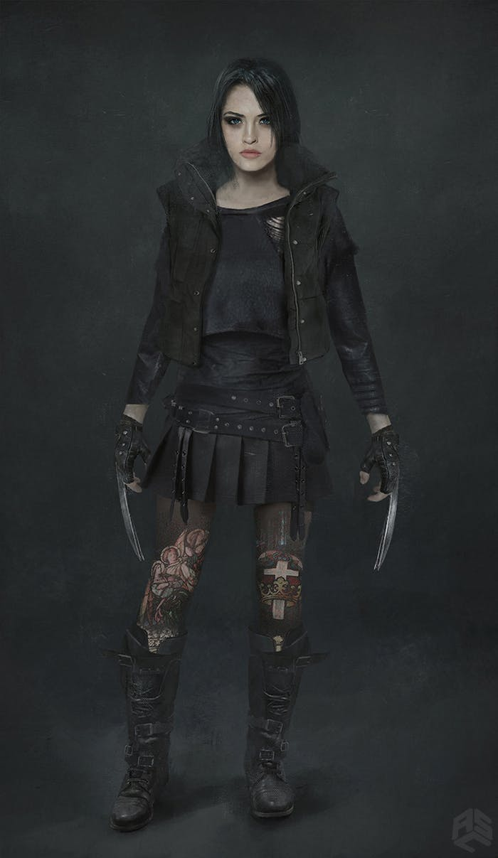 Logan Laura Wolverine