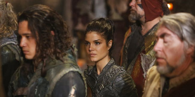 Octavia in 'The 100' Season 4 episode 2, Heavy Lies The Crown