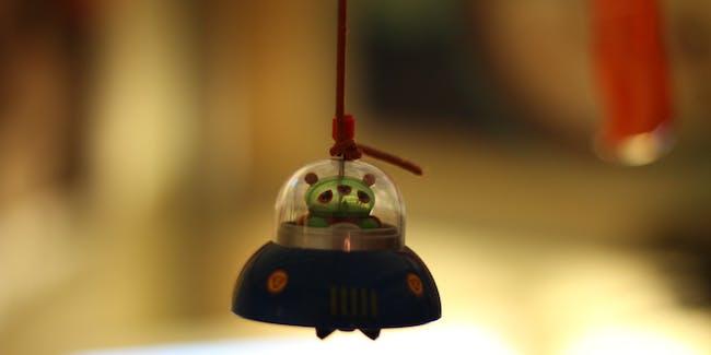 green alien - narf
