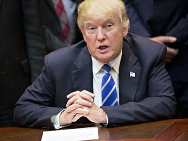 Trump Unloads 5 Conspiracy Theories in Two Tweets
