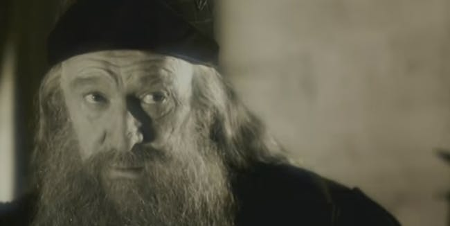 Dumbledore in 'Harry Potter and the Chamber of Secrets'