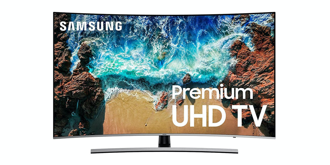 "Samsung Curved 65"" 4K UHD 8 Series Smart LED TV"