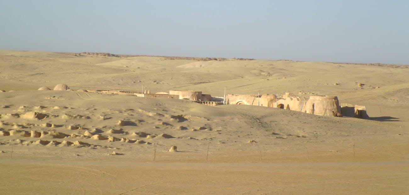 Star Wars Tatooine Tunisia