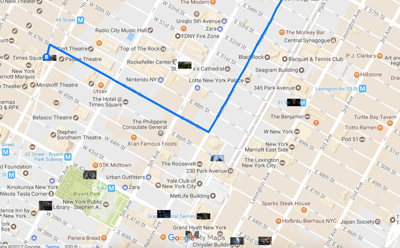 Map Of Midtown New York.The Definitive Map Of Marvel S New York City Inverse