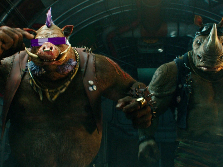 The Evolution of Bebop and Rocksteady In 'Teenage Mutant Ninja Turtles'