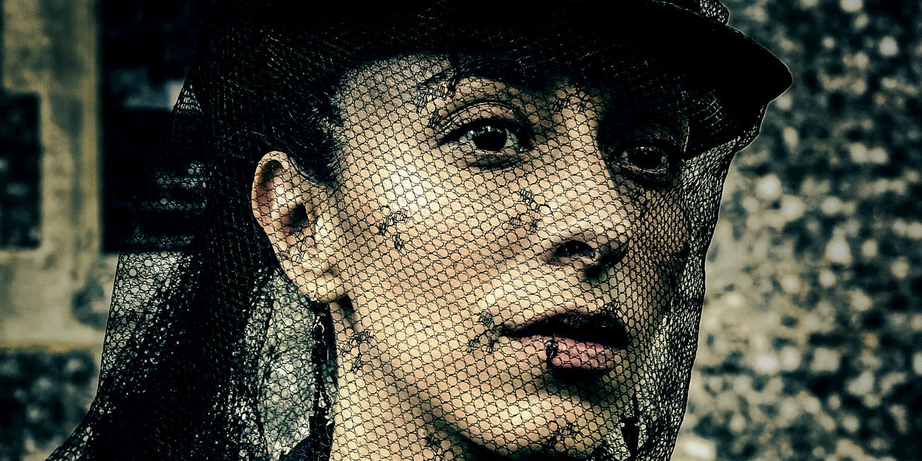 Oona Chaplin as Zilpha on 'Taboo'