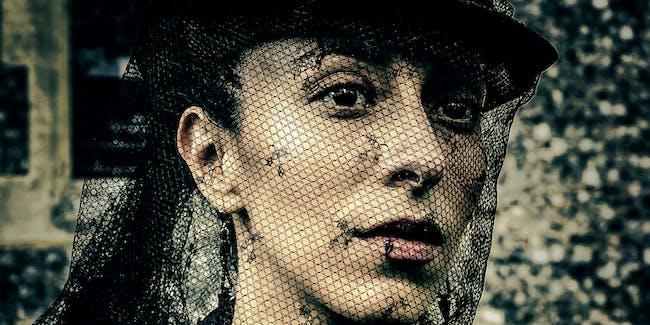 Oona Chaplin as Zilpha on 'Taboo'