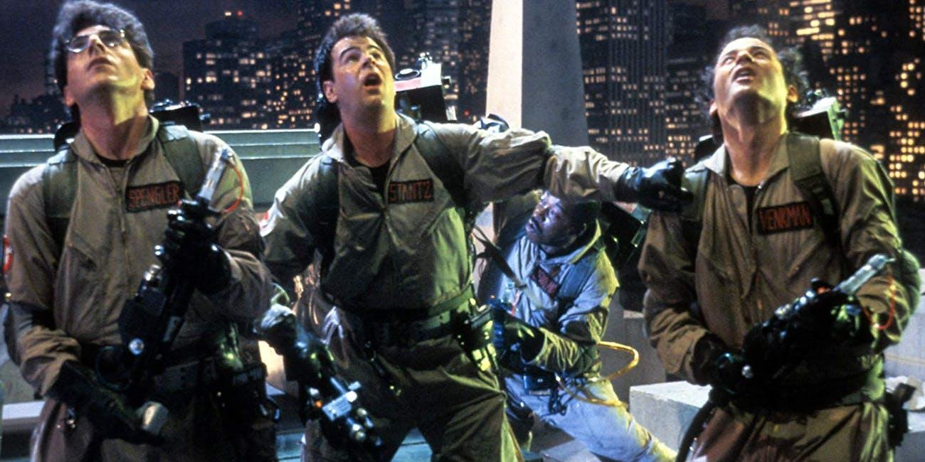 Harold Ramis, Dan Aykroyd, Bill Murray in Ghostbusters