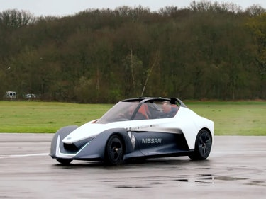 The New 'Top Gear' Goes Drifting in Nissan's Crazy BladeGlider