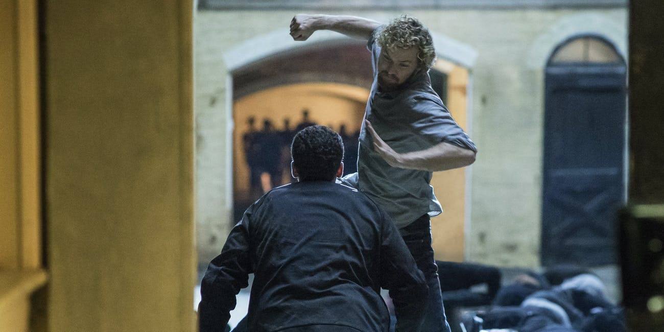 Finn Jones Iron Fist Asian Marvel Netflix