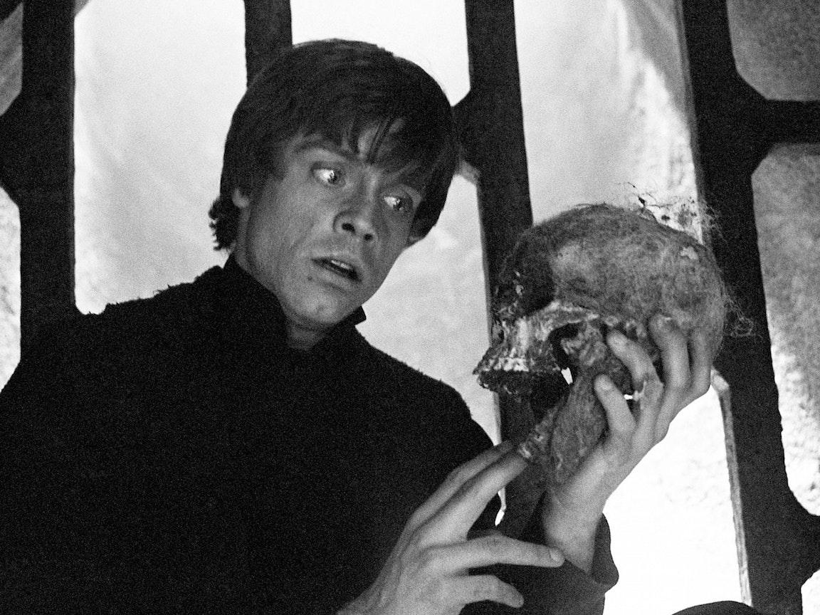 Luke Skywalker Channels Hamlet in 'Return of the Jedi'