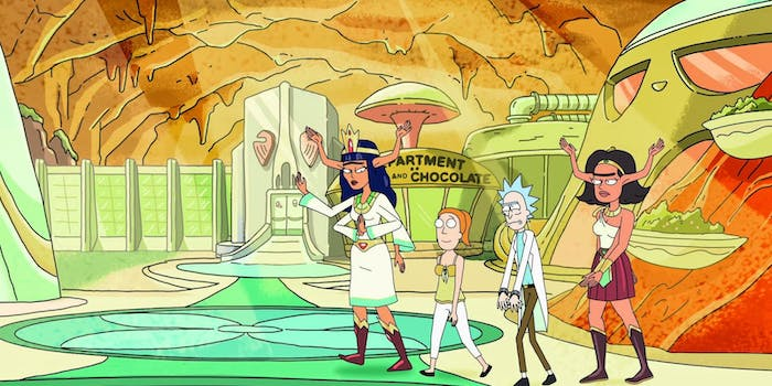 "'Rick and Morty' gets lazy writing in ""Raising Gazorpazorp."""