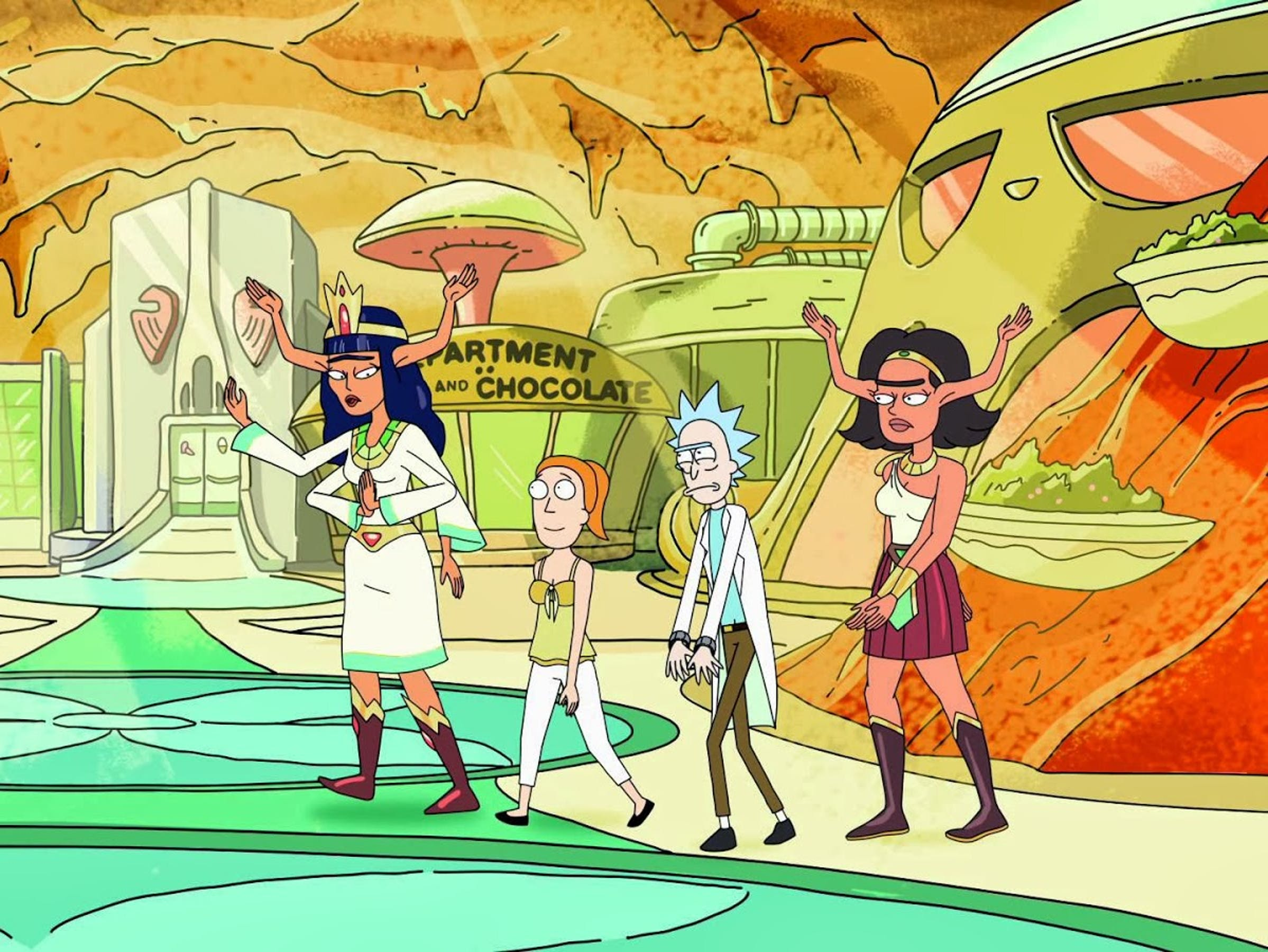 """'Rick and Morty' gets lazy writing in """"Raising Gazorpazorp."""""""