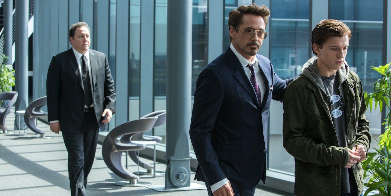 Spider-Man Homecoming Tony Stark
