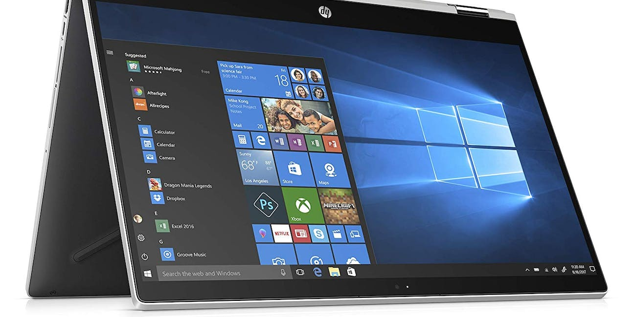 "HP Pavilion X360 15.6"" Full HD Convertible Touschscreen 2-in-1 Laptop Core i3-8130U Up to 3.4GHz 20GB (4GB DDR4+16GB Optane) Memory 1TB HDD HP Digital Pen Windows 10"